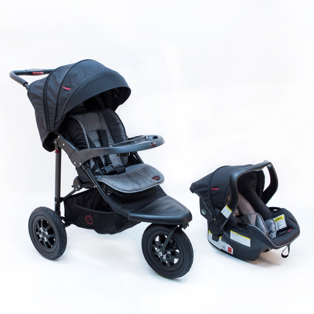 Chelino Urban Detour 3 Wheel Travel System Baby Depot