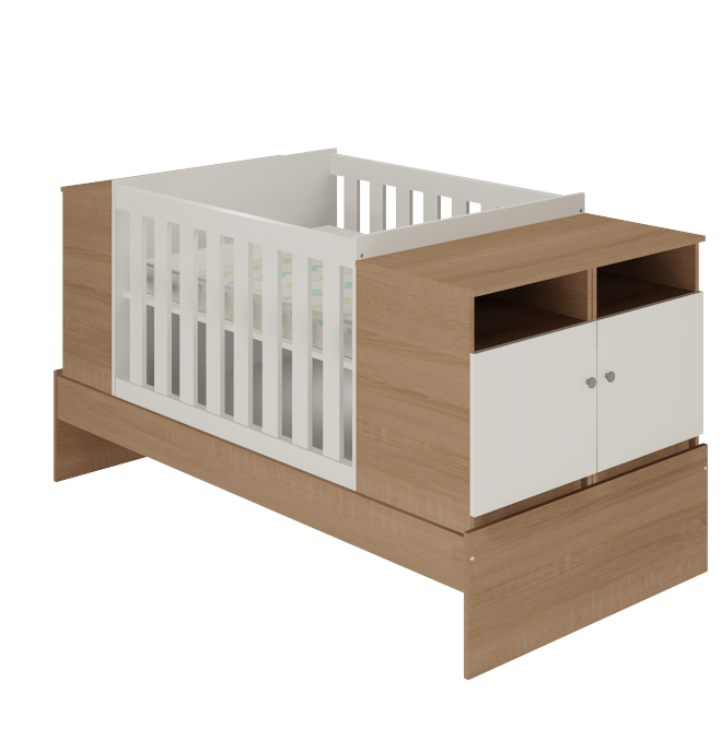 Baby Bedroom In A Box Special: 7 In 1 Cot Combo